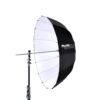 Phottix Premio Reflective Umbrella 85cm/33″ Black Exterior / White Interior