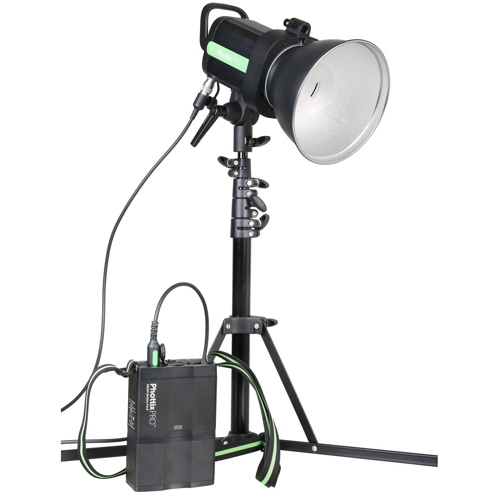 Phottix Indra500 TTL Studio Light with Battery Pack Kit