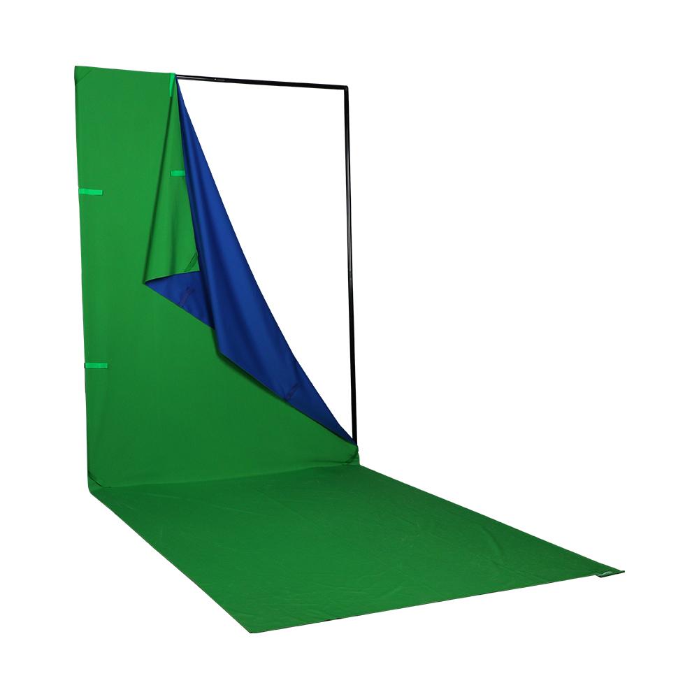 Phottix Q-drop Collapsible Backdrop Kit (4-color, 1.52m*2.26m)