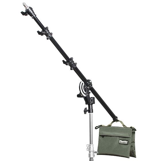 Light Stand Boom Arm 160cm (63″) with Sandbag