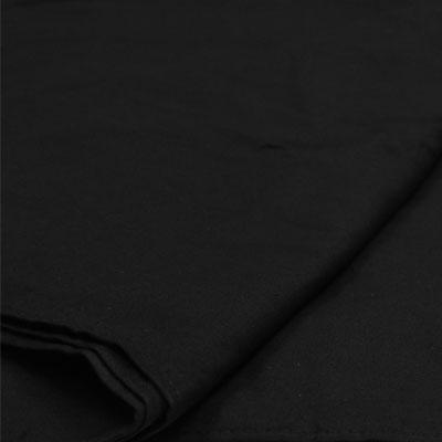 Black Seamless Photography Backdrop Muslin (3x6m)