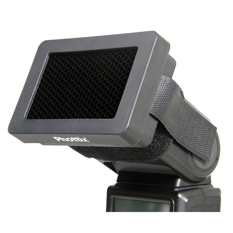 Phottix Honeycomb Grid and Gels for Hot Shoe Flashes