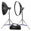 Phottix Rani II 85 Folding Beauty Dish (85cm, 33″, Silver, 16-Rod)